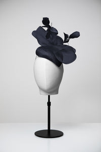 Poppy & Teardrop Fascinator