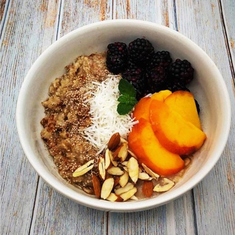 Breakfast Chocolate Oatmeal Bowl