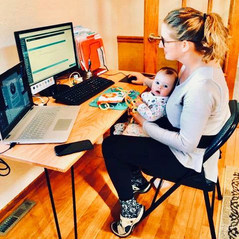 Five Tips to Keep Your Baby Busy During the Coronoavirus (While Working from Home)