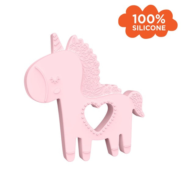 Manhattan Toy Unicorn Silicone Teether