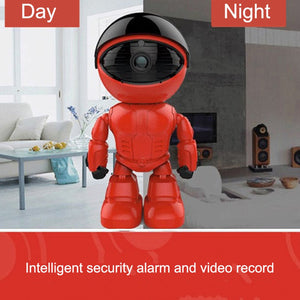 2.0MP 1080P Wifi Wireless Robot Camera IP Camera for Baby Security Monitor