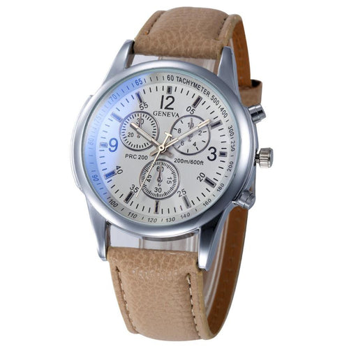 Women Watches Faux Leather Analog Business Quartz Wrist Watch relogio feminino reloj hombre