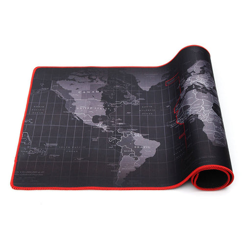World Map Mats Mousepad Mousepad