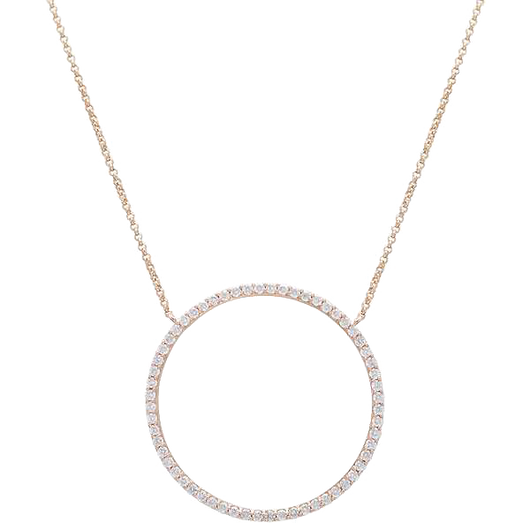 18k Bells diamond necklace