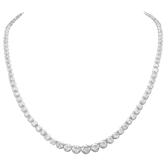 18k 3CT Diamond necklace