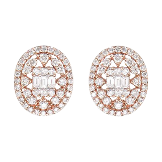 18k Eliza diamond studs