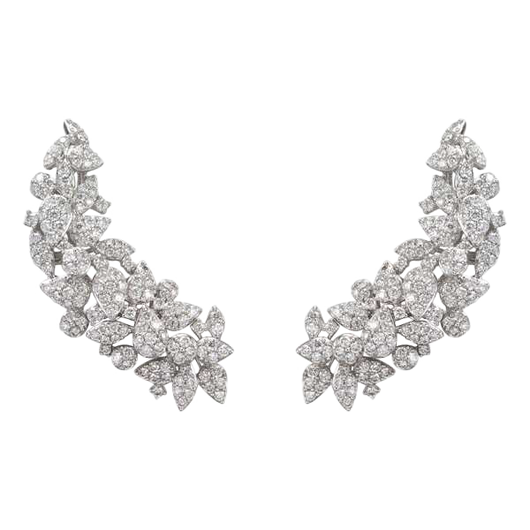 18k Ava diamond earrings