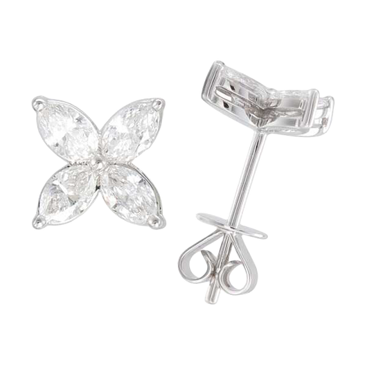 18k Maisy diamond studs
