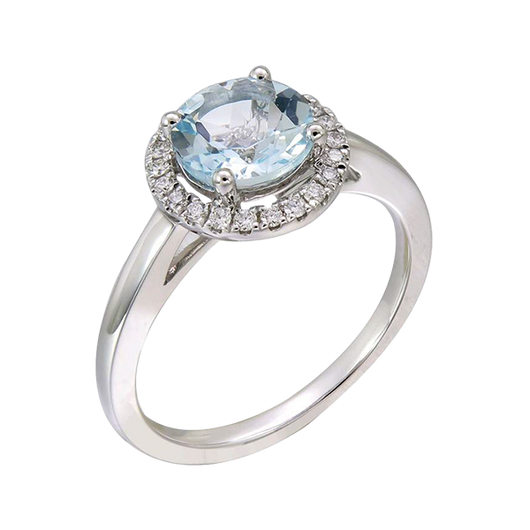 Pema aquamarine ring