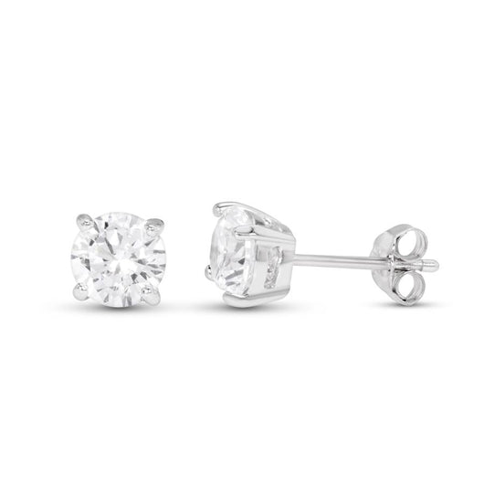 18k 35pt diamond stud set