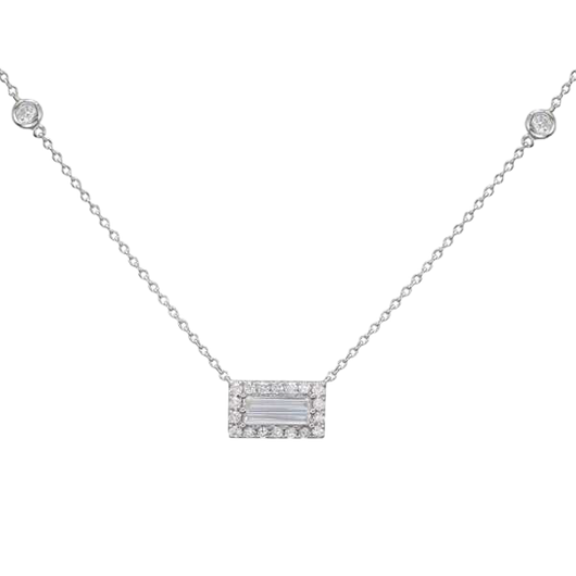 18k Tropea diamond necklace