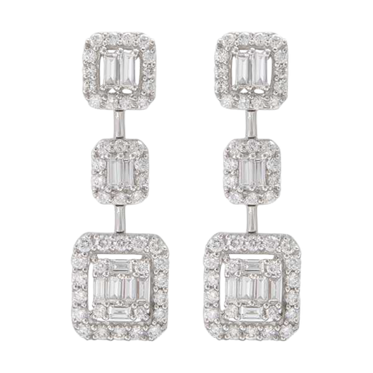 18k Willa diamond drops