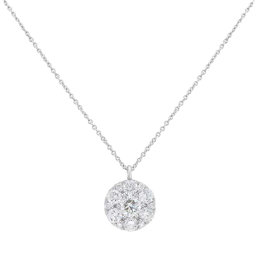18k Clovelly diamond necklace