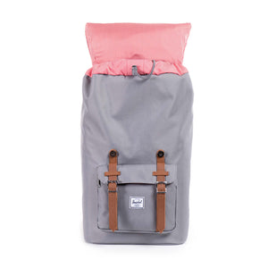 Herschel Little America Backpack, Grey/Tan