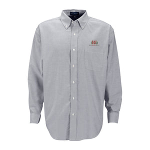 Vantage Men's Oxford Button Down, Grey