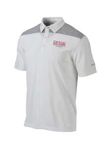 Columbia Men's DeVoe School of Business Omni Wick Utility Polo, White