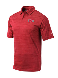 Columbia Men's Omni-Wick Set Polo, Red