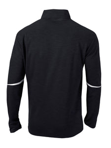 Columbia Men's Omni-Wick Scorecard 1/4 Zip, Black