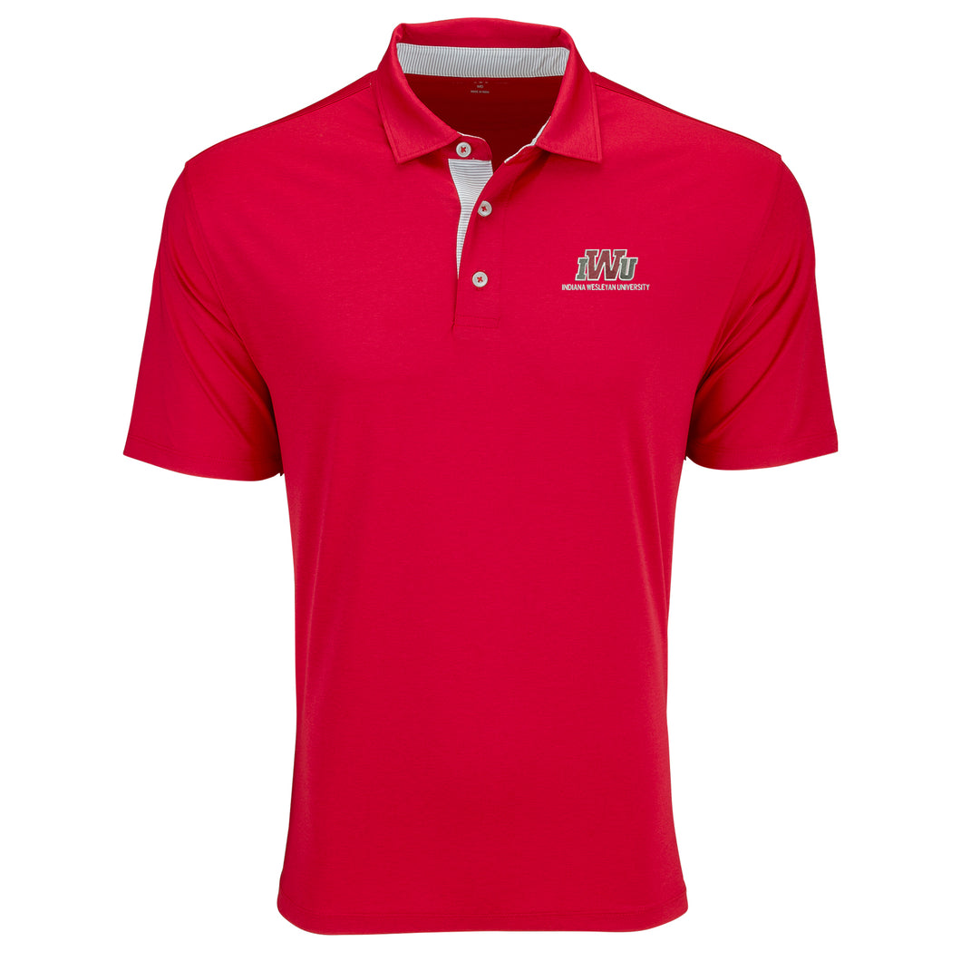 Vantage Men's Signature Polo, Red