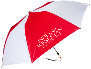 Storm Duds Big Storm Umbrella, Red/White