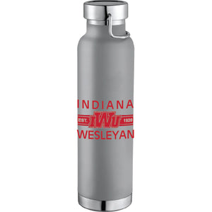 RFSJ Powder Coated Insulated Bottle, Grey