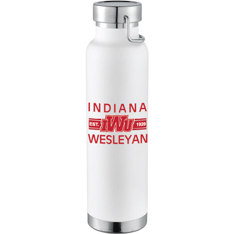 RFSJ Powder Coated Insulated Bottle, White