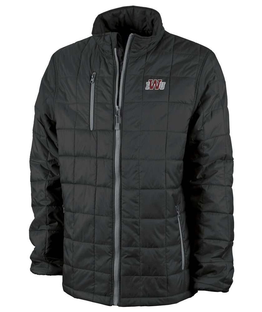 Charles River Lithium Quilted Jacket, Black