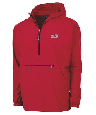 Charles River Pack-N-Go Pullover, Red