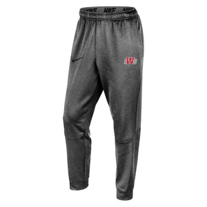 Nike Men's Therma Tapered Pant, Dark Heather