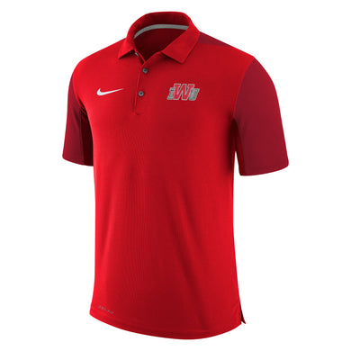 Nike Men's Team Issue Polo, Red