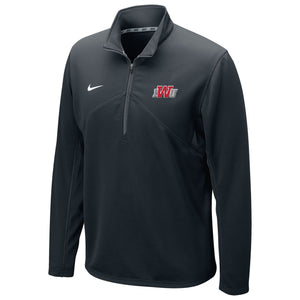 Nike Men's Dri-Fit Training 1/4 Zip Top, Black