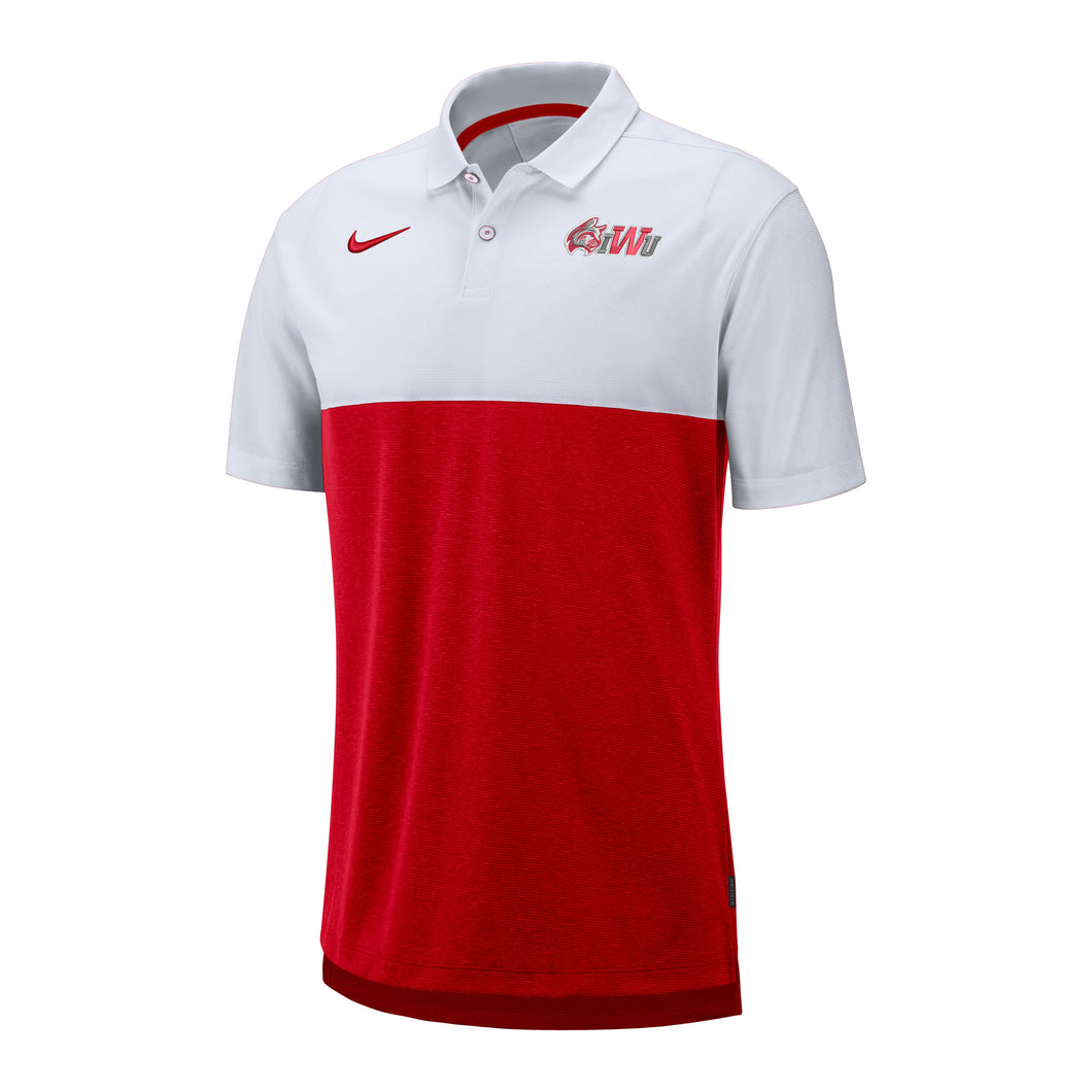 Nike Men's Early Season Polo, Red/White