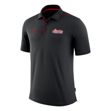 Nike Men's Team Issue Polo, Black/Red