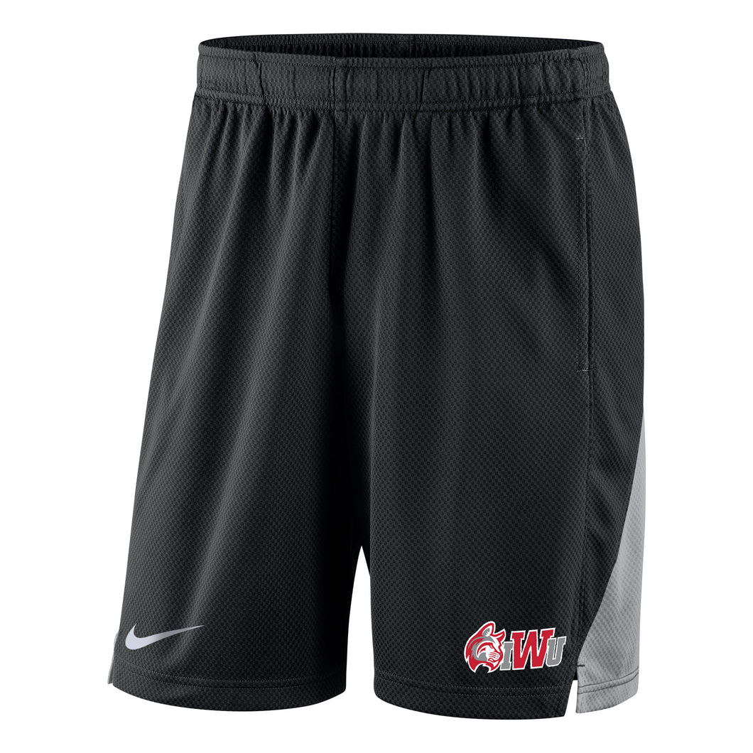 Nike Men's Franchise Short, Black/Wolf Grey