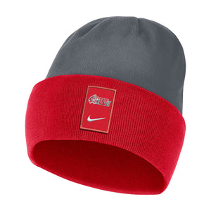 Nike Sideline Dri-Fit Beanie, University Red