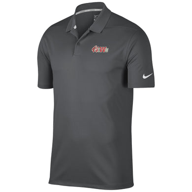 Nike Men's Sideline 2020 Victory Solid Polo, Dark Grey