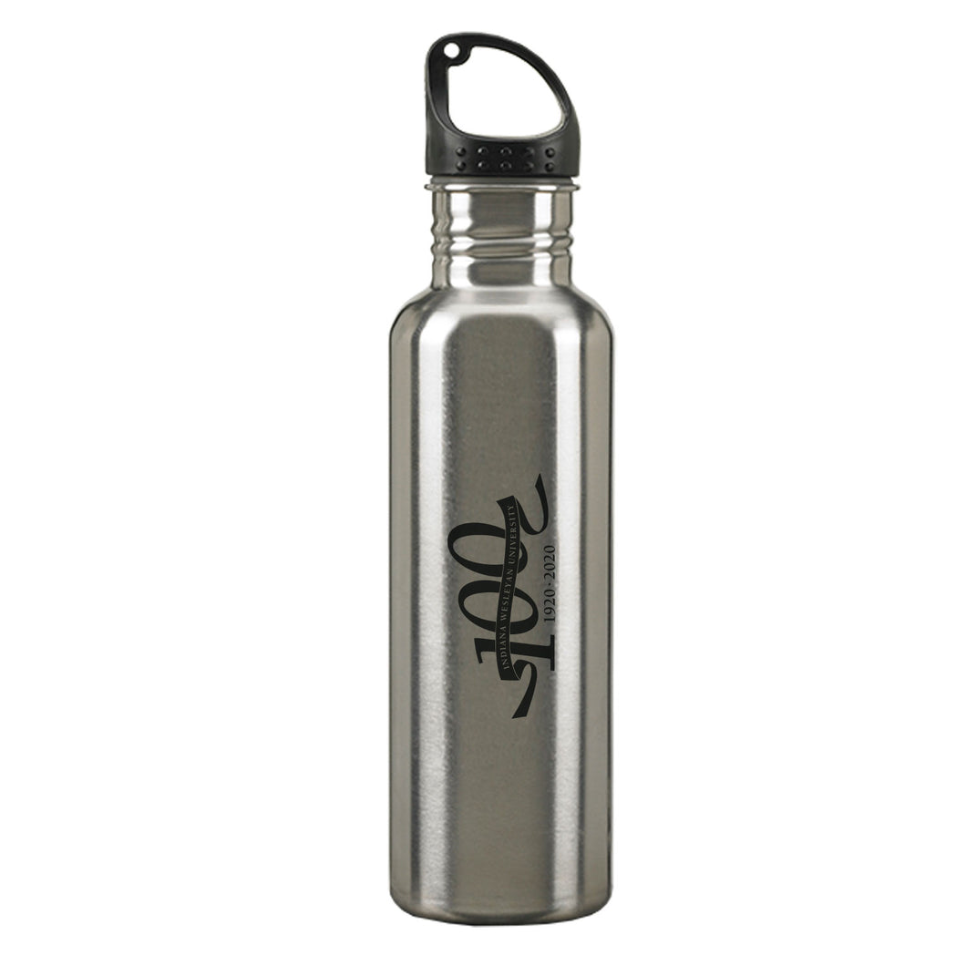 LXG 24oz. Centennial Stainless Steel Water Bottle, Silver