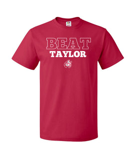 Beat Taylor Tee, Red