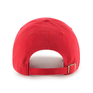 47 Brand Headwear 47' Cleanup Cooperstown Cap, Red