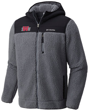 Columbia Men's Mountainside Heavyweight Fleece Full Zip, Grill
