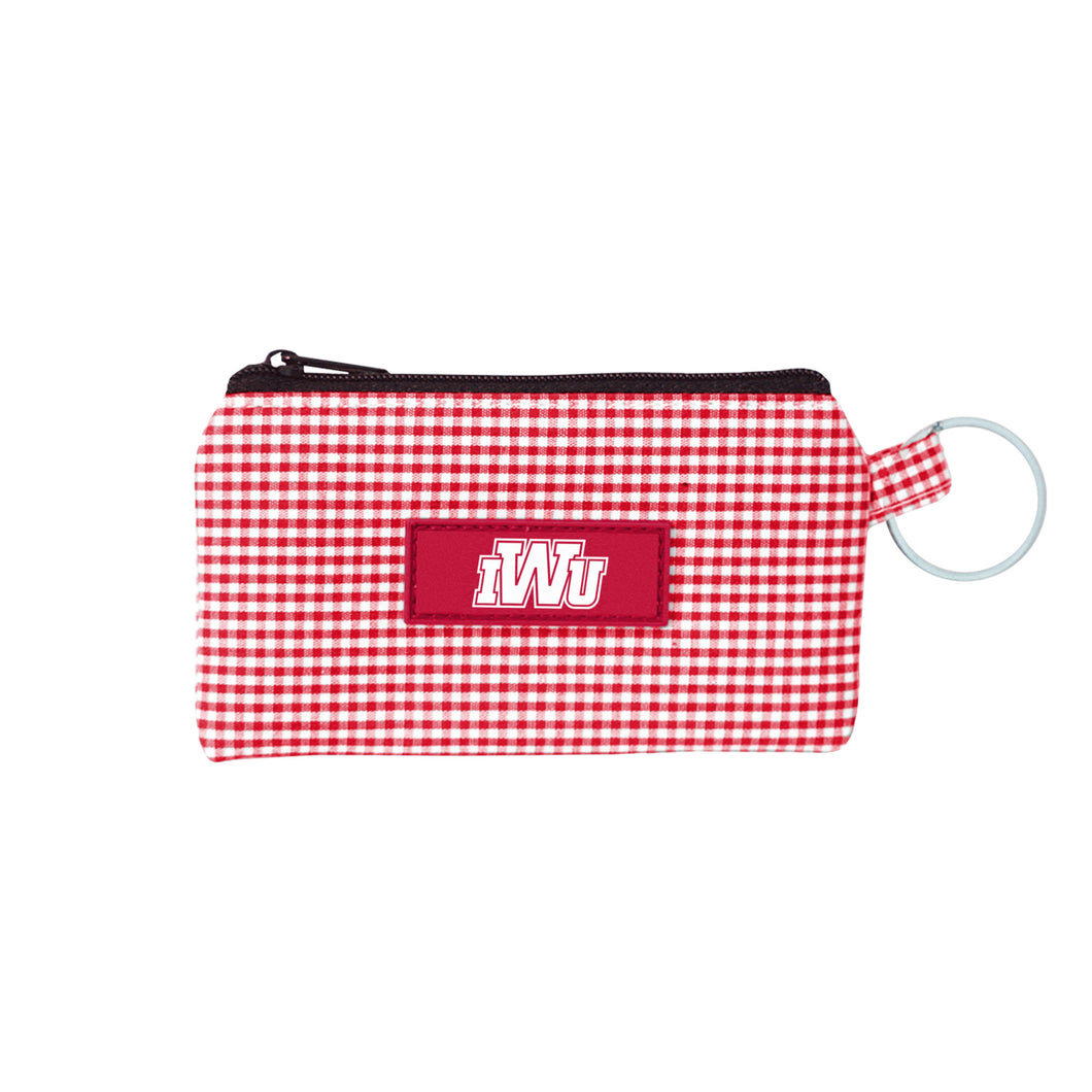 Spirit Newport Gingham ID Case, Red