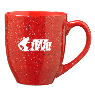 LXG N&G Speckled Bistro Mug, Red