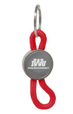 LXG Disc Rope Keychain, Red