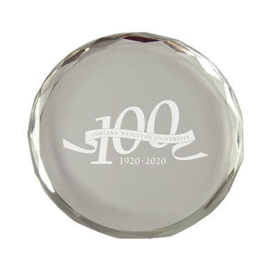 LXG Centennial Paper Weight, Crystal