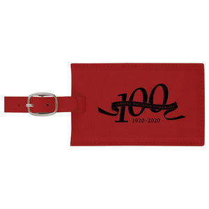 LXG Centennial Luggage Tag, Red