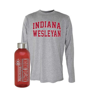 OnMission Long Sleeve Tee & Spirit H2GO Hip Sport Bottle Bundle