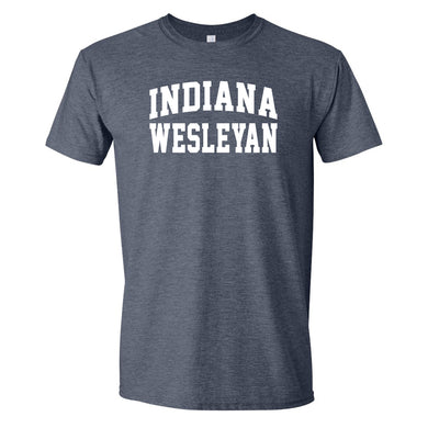 2020 Fall Tee, Heather Navy