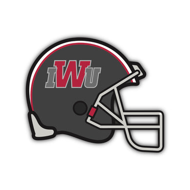 IWU Grey Football Helmet Decal - M30