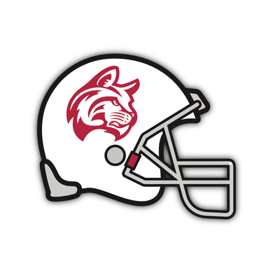IWU White Football Helmet Decal - M29