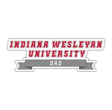 IWU Dad Decal